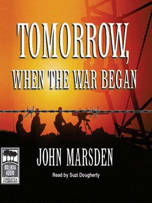 Click this cover for a(n) Audiobook sample of Tomorrow, When the War Began.