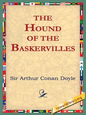Click this cover for a(n) eBook sample of The Hound of Baskervilles