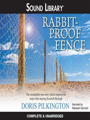 Click this cover for a(n) Audiobook sample of Rabbit-Proof Fence.
