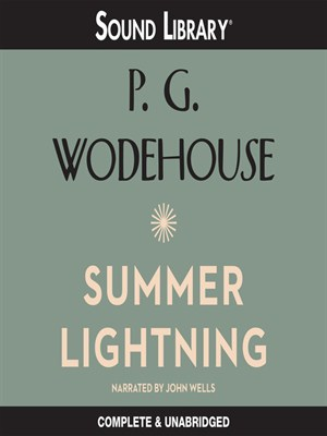 Click this cover for a(n) Audiobook sample of Summer Lightning.