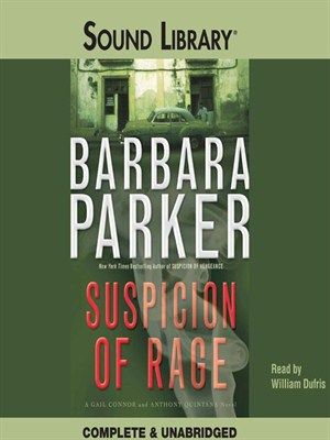 Click this cover for a(n) Audiobook sample of Suspicion of Rage.