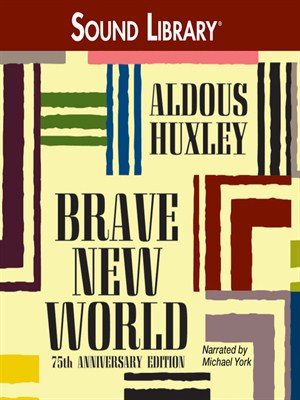 Click this cover for a(n) Audiobook sample of Brave New World.