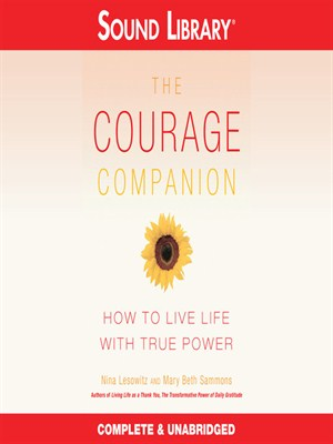 Click this cover for a(n) Audiobook sample of The Courage Companion