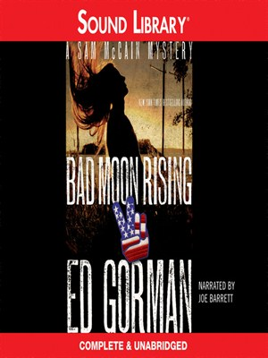 Click this cover for a(n) Audiobook sample of Bad Moon Rising.
