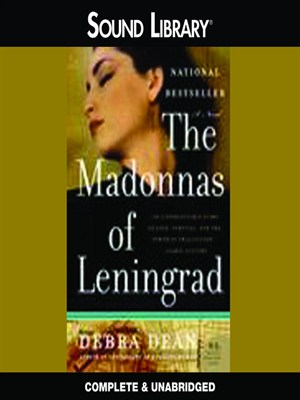 Click this cover for a(n) Audiobook sample of The Madonnas of Leningrad