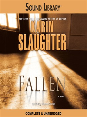 Click this cover for a(n) Audiobook sample of Fallen