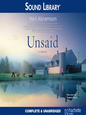 Click this cover for a(n) Audiobook sample of Unsaid.