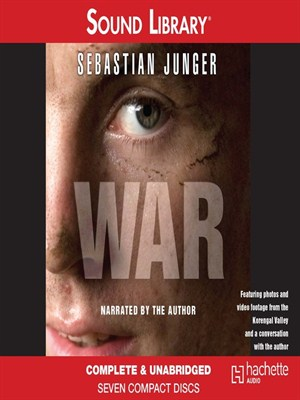 Click this cover for a(n) Audiobook sample of War