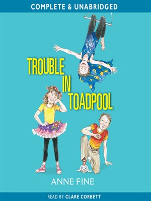 Click this cover for a(n) Audiobook sample of Trouble in Toadpool.