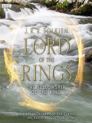 Click this cover for a(n) Audiobook sample of The Fellowship of the Ring