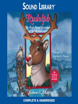 Click this cover for a(n) Audiobook sample of Rudolph the Red-Nosed Reindeer.