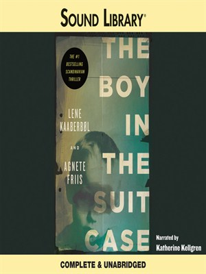 Click this cover for a(n) Audiobook sample of The Boy in the Suitcase