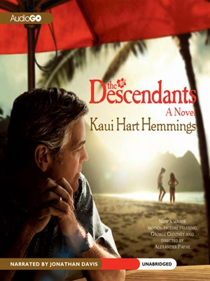 Click this cover for a(n) Audiobook sample of The Descendants.