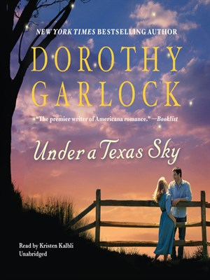 Click this cover for a(n) Audiobook sample of Under a Texas Sky.