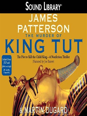 Click this cover for a(n) Audiobook sample of The Murder of King Tut.