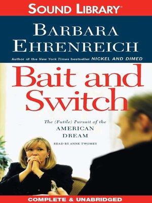 Cover image for Bait and Switch