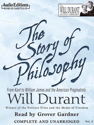 Cover of The Story of Philosophy