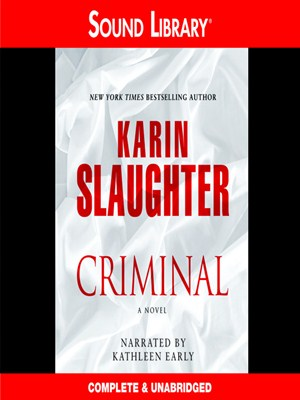 Click this cover for a(n) Audiobook sample of Criminal.