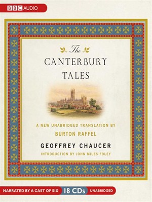 Click this cover for a(n) Audiobook sample of The Canterbury Tales