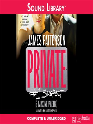 Click this cover for a(n) Audiobook sample of Private: #1 Suspect.