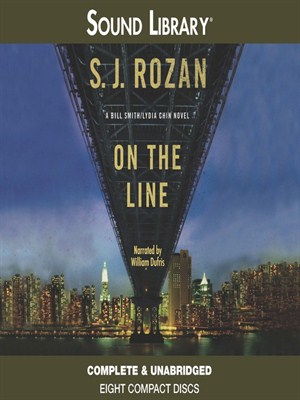 Click this cover for a(n) Audiobook sample of On the Line