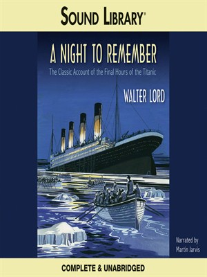 Click this cover for a(n) Audiobook sample of A Night to Remember
