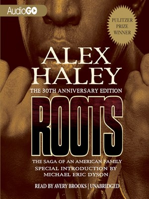 Click this cover for a(n) Audiobook sample of Roots