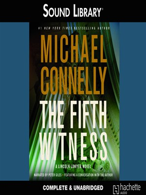 Click this cover for a(n) Audiobook sample of The Fifth Witness