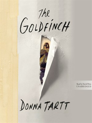Click this cover for a(n) Audiobook sample of The Goldfinch.