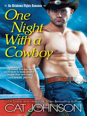 Click this cover for a(n) eBook sample of One Night with a Cowboy