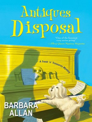 Click this cover for a(n) eBook sample of Antiques Disposal.