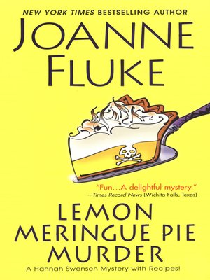 Click this cover for a(n) eBook sample of Lemon Meringue Pie Murder.