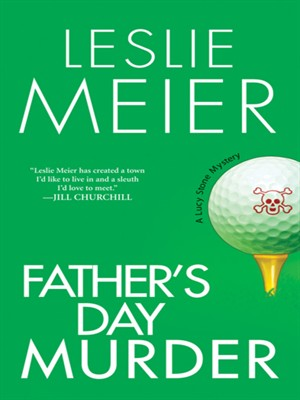 Click this cover for a(n) eBook sample of Father's Day Murder