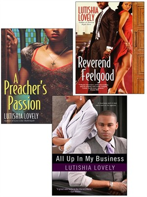 Click this cover for a(n) eBook sample of All Up In My Business Bundle with A Preacher's Passion & Reverend Feelgood.