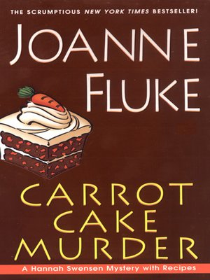 Click this cover for a(n) eBook sample of Carrot Cake Murder.