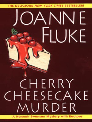 Click this cover for a(n) eBook sample of Cherry Cheesecake Murder.