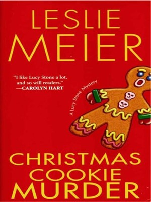 Click this cover for a(n) eBook sample of Christmas Cookie Murder