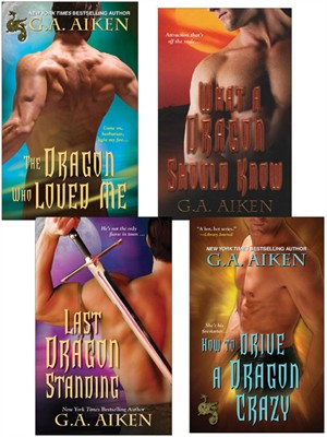 Click this cover for a(n) eBook sample of G.A. Aiken Dragon Bundle