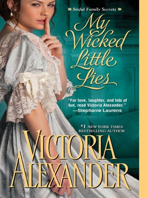 Click this cover for a(n) eBook sample of My Wicked Little Lies.