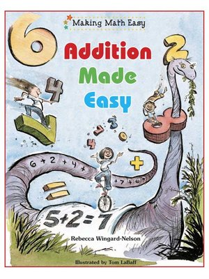 Click this cover for a(n) eBook sample of Addition Made Easy.