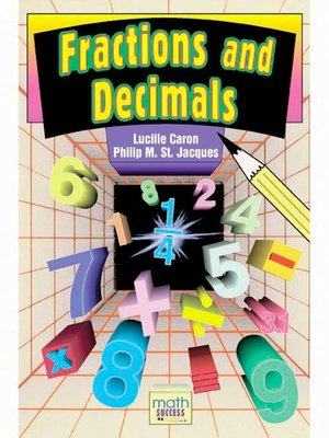 Click this cover for a(n) eBook sample of Fractions and Decimals