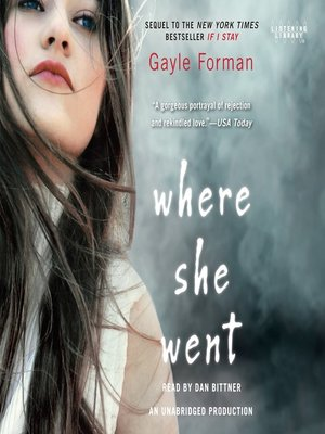 Cover of Where She Went