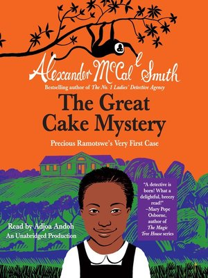 Click this cover for a(n) Audiobook sample of The Great Cake Mystery.