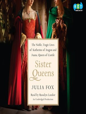 Click this cover for a(n) Audiobook sample of Sister Queens.