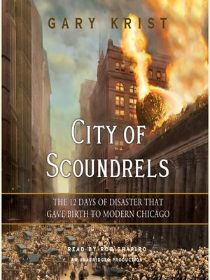 Click this cover for a(n) Audiobook sample of City of Scoundrels.