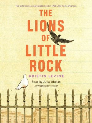 Click this cover for a(n) Audiobook sample of The Lions of Little Rock.