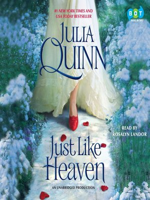 Click this cover for a(n) Audiobook sample of Just Like Heaven.