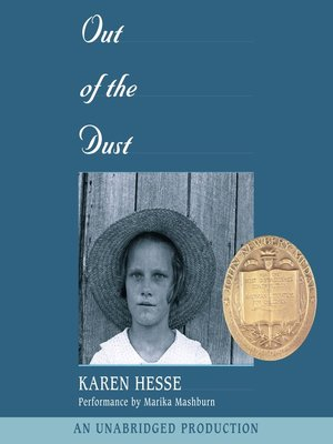 Click this cover for a(n) Audiobook sample of Out of the Dust.
