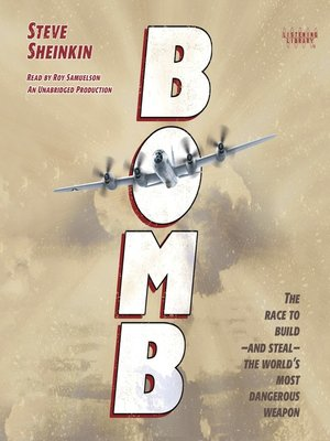 Click this cover for a(n) Audiobook sample of Bomb.