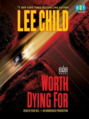 Click this cover for a(n) Audiobook sample of Worth Dying For